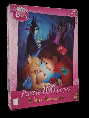 Quebra-Cabeça 100 peças - Grow - Disney, A Bela Adormecida