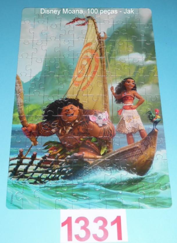 Quebra-Cabeça 100 peças - Jak - Disney Moana