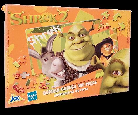 Quebra-Cabeça 100 peças - Jak - Shrek 2