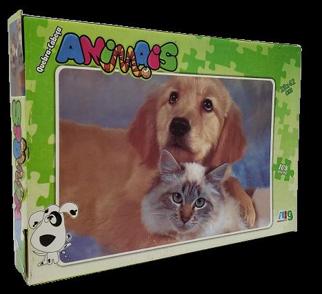 Quebra-Cabeça 108 peças - Nig - Animais