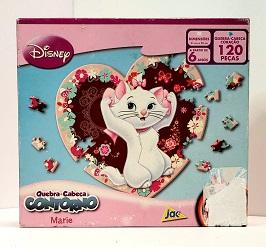 Quebra-Cabeça 120 peças - Jak - Marie, formato coração