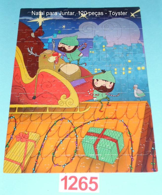 Quebra-Cabeça 120 peças - Toyster - Natal para Juntar