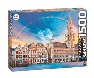 Quebra-Cabeça 1500 peças - Grow - Bruxelas