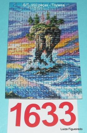 Quebra-Cabeça 150 mini peças - Toy Town - Ilha