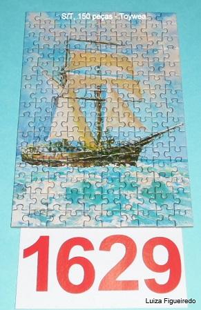 Quebra-Cabeça 150 mini peças - Toy Town - Navio