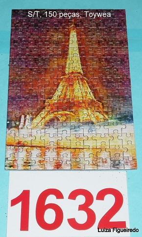 Quebra-Cabeça 150 mini peças - Toy Town - Torre Eiffel
