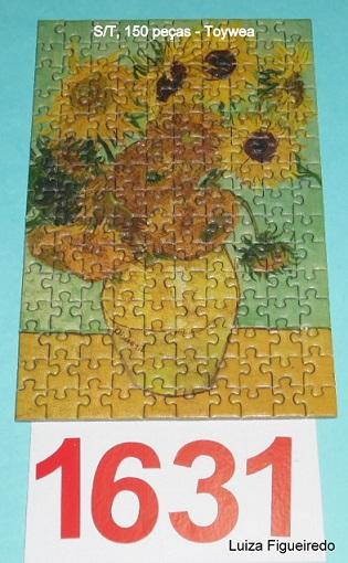 Quebra-Cabeça 150 mini peças - Toy Town - Van Gogh #2