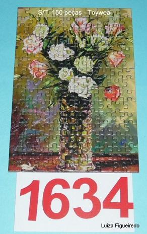 Quebra-Cabeça 150 mini peças - Toy Town - Vaso de Flores