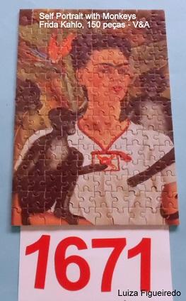 Quebra-Cabeça 150 mini peças - V&A - Frida Kahlo
