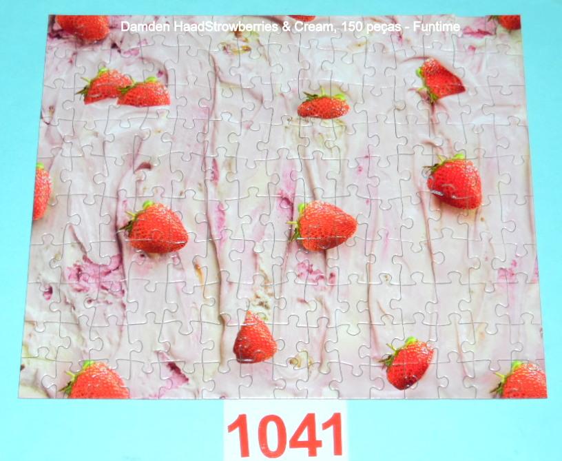 Quebra-Cabeça 150 peças - Funtime - Strawberries & Cream