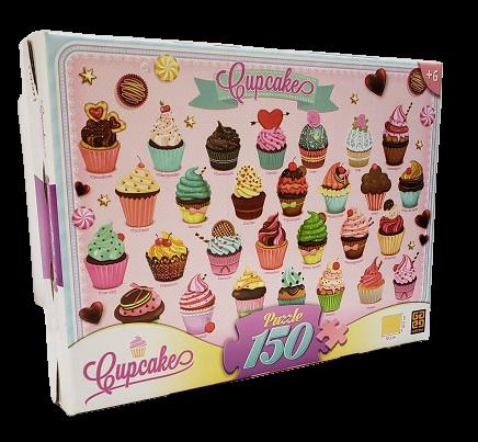 Quebra-Cabeça 150 peças - Grow - Cupcakes
