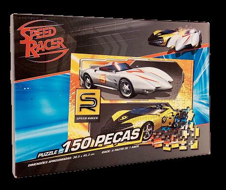 Quebra-Cabeça 150 peças - Grow - Speed Racer