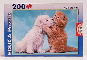 Quebra-Cabeça 200 peças - Educa - Hugs and Kisses