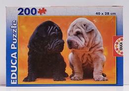 Quebra-Cabeça 200 peças - Educa - Puppies