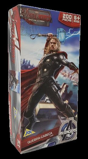 Quebra-Cabeça 200 peças - Jak - Avengers - Thor