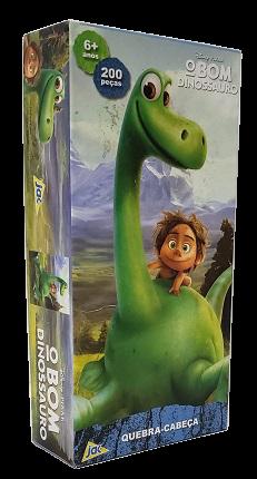 Quebra-Cabeça 200 peças - Jak - O Bom Dinossauro