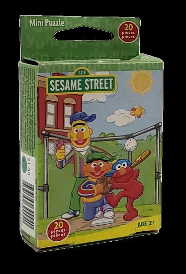 Quebra-Cabeça 20 peças - Hasbro, 123 Sesame Street