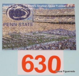 Quebra-Cabeça 234 peças - TDC - Beaver Stadium, World Smallest Puzzle