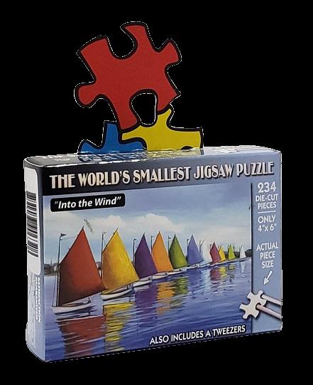 Quebra-Cabeça 234 peças - TDC - Into the Wind, World Smallest Puzzle