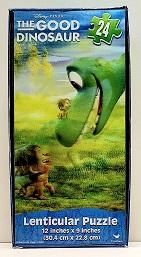 Quebra-Cabeça 24 peças - Cardinal Games - Disney - the Good Dinosaur - Lenticular