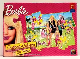 Quebra-Cabeça - 24 peças - Mattel - Barbie