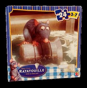 Quebra-Cabeça 24 peças - Mattel - Ratatouille, peças grandes