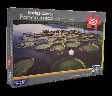 Quebra-Cabeça 250 peças - Game office - Amazônia - panoramico