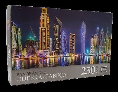 Quebra-Cabeça 250 peças - Game Office - Dubai - Panoramico