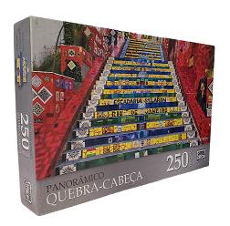 Quebra-Cabeça 250 peças - Game Office, Escadaria Selaron