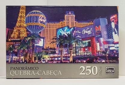 Quebra-Cabeça 250 peças - Game Office - Las Vegas - Panoramico