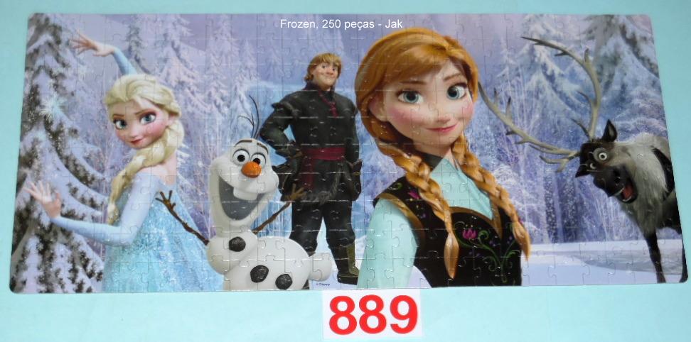 Quebra-Cabeça 250 peças - Jak - Disney Frozen