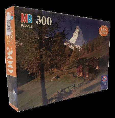 Quebra-Cabeça 300 peças - Milton Bradley - The Matterhorn, Switzerland