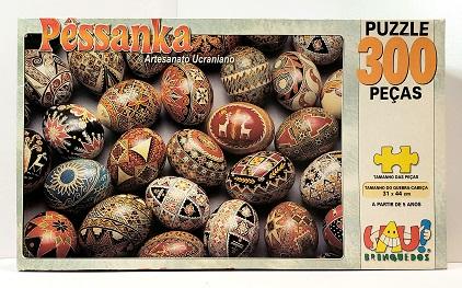 Quebra-Cabeça 300 peças - Uau Brinquedos - Pessanka