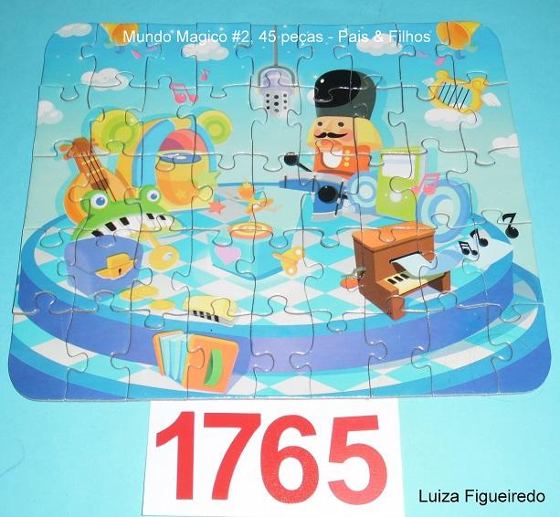 Quebra-Cabeça 30, 45 e 56 peças - Pais & Filhos - Mundo Magico