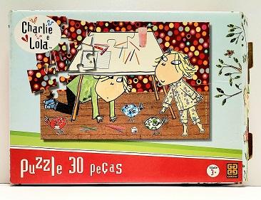 Quebra-Cabeça 30 peças - Grow - Charlie e Lola