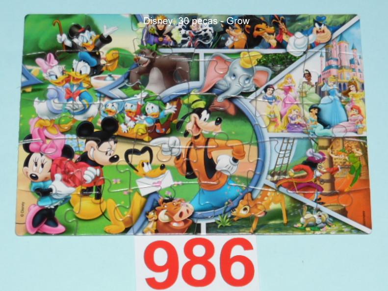 Quebra-Cabeça 30 peças - Grow - Disney