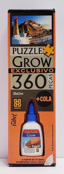 Quebra-Cabeça 360 peças - Grow - Tibet - acompanha cola