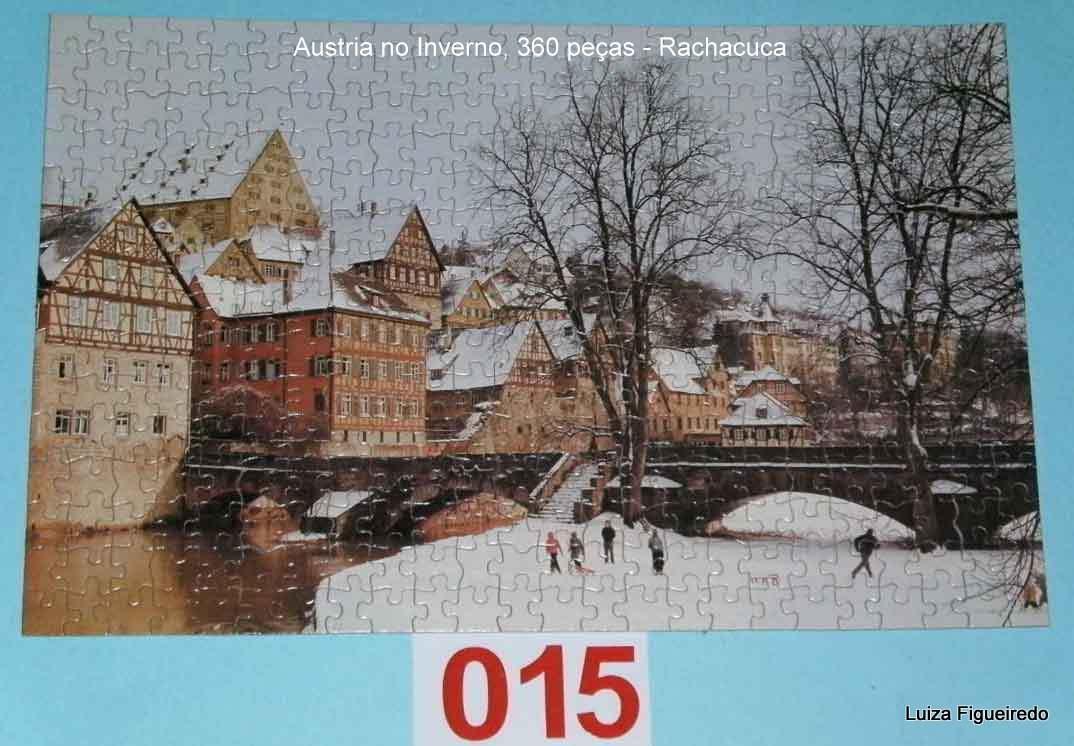 Quebra-Cabeça 360 peças - Rachacuca - Austria No Iverno