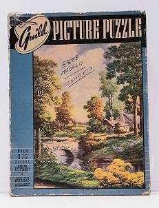 Quebra-Cabeça 375 peças - Whitman Publishing - Old Stone Bridge