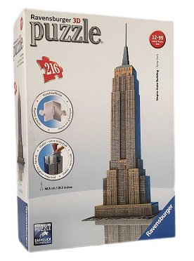 Quebra-Cabeça 3D 216 peças -Ravensburger - Empire State Building