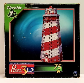 Quebra-Cabeça 3D 75 peças - Wrebbit - Lighthouse