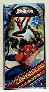 Quebra-Cabeça 48 peças - Cardinal Games - Marvel - Spider Man - Lenticular