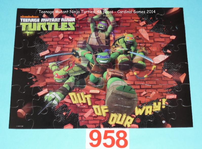 Quebra-Cabeça 48 peças Cardinal Games - Turtles
