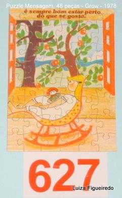 Quebra-Cabeça 48 peças - Grow, Puzzle Mensagem - Balanço