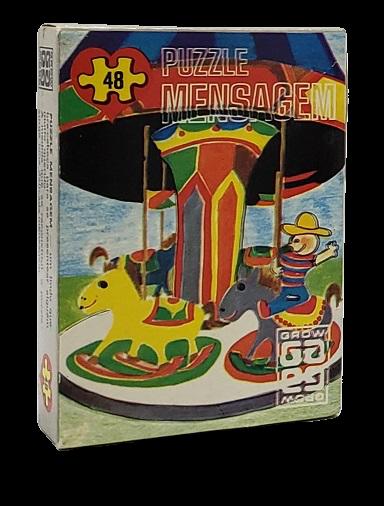 Quebra-Cabeça 48 peças - Grow, Puzzle Mensagem - Carrossel