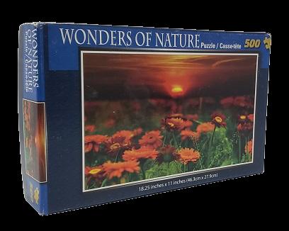 Quebra-Cabeça 500 peças - Cardinal Games - Wonders of Nature