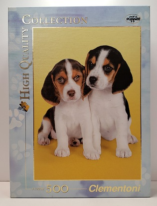 Quebra-Cabeça 500 peças - Clementoni - Nice Beagles