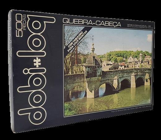 Quebra-Cabeça 500 peças - Dobi-log - Ponte Bradford