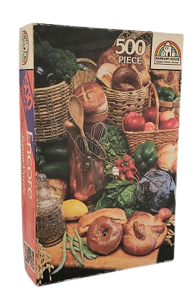 Quebra-Cabeça 500 peças - Encore - Broccoli to Bagels - 1989