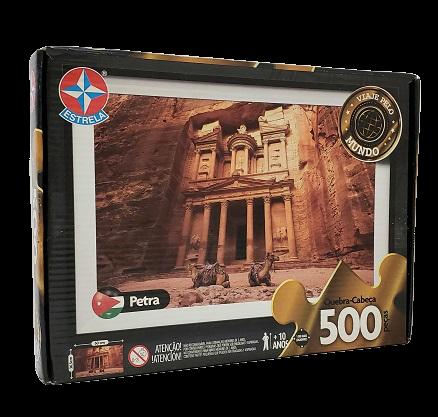 Quebra-Cabeça 500 peças - Estrela - Petra